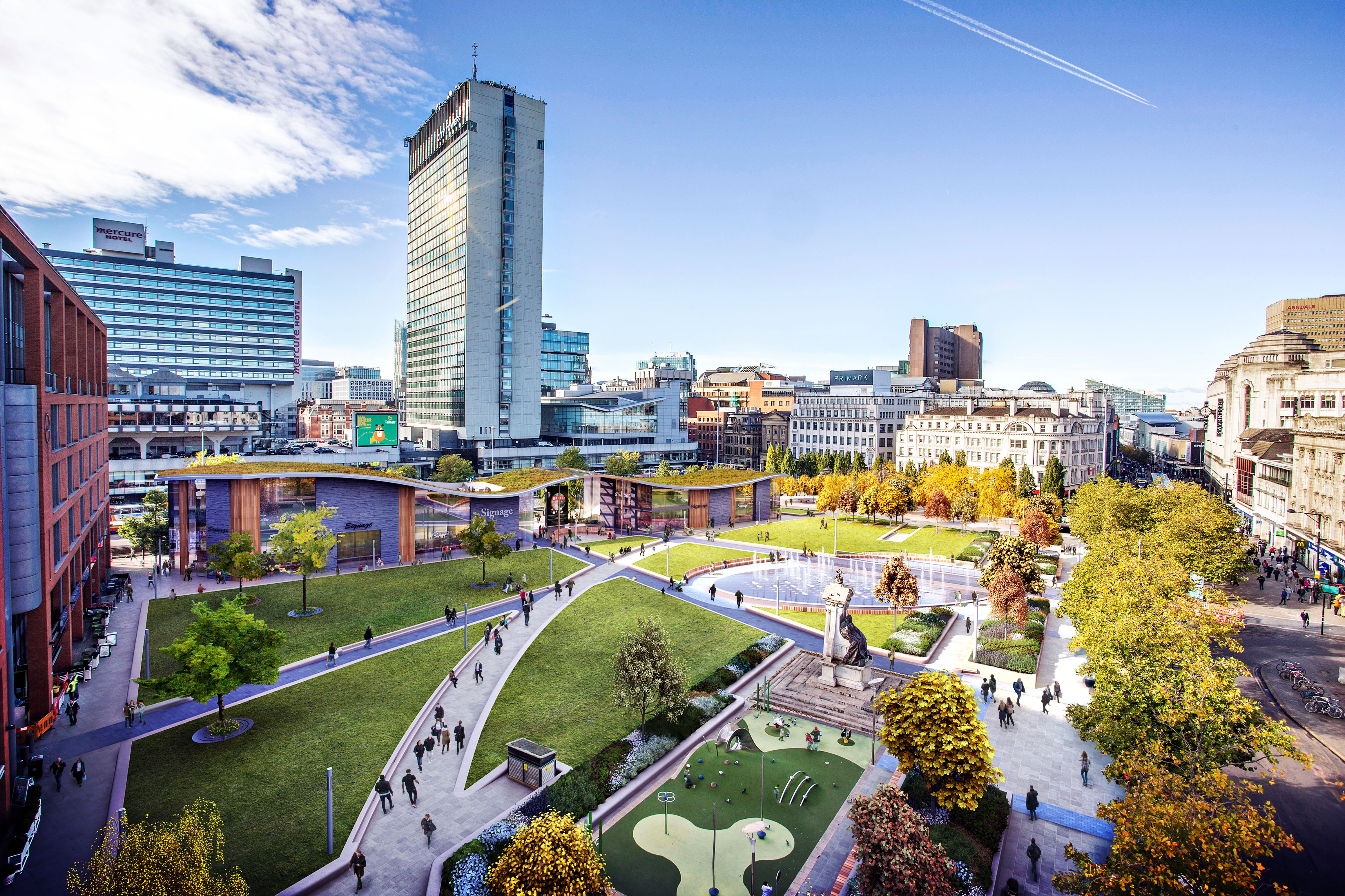 Plans Submitted For The Redevelopment Of Piccadilly