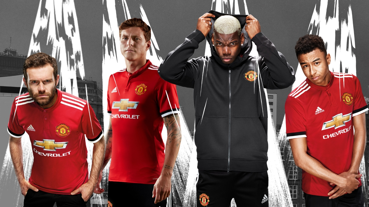 United S New Kit Is Revealed About Manchester