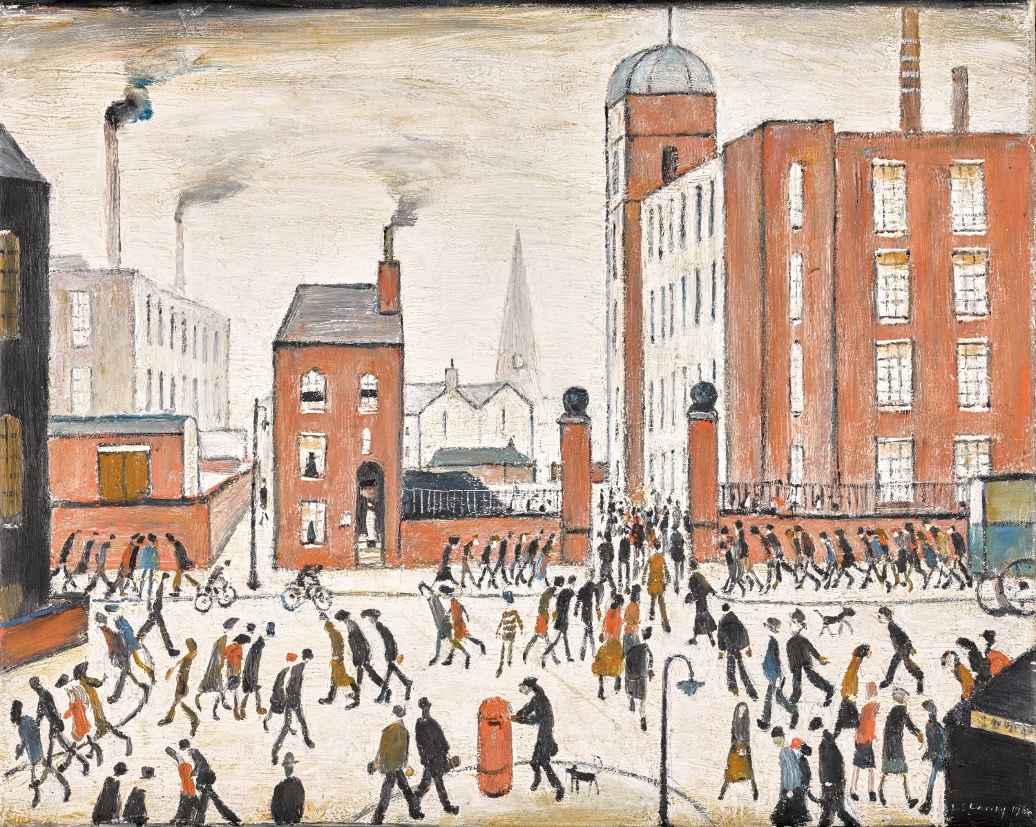 Three Masterworks By L.S. Lowry to Appear at Auction at Sotheby's ...