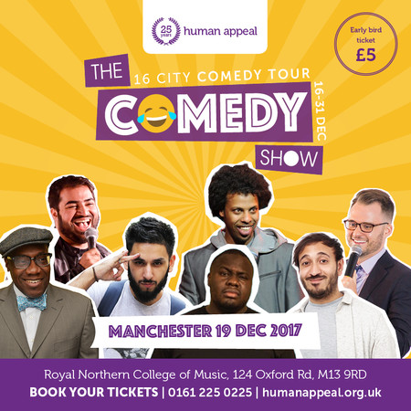 Manchester comedy tours