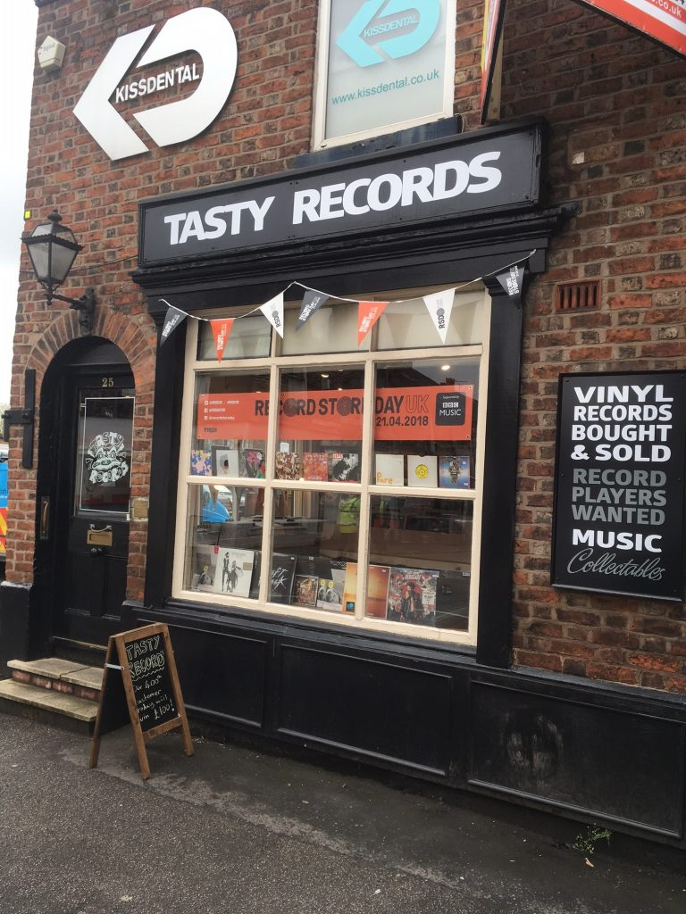 Independent Vinyl Records Store Opens In Altrincham About Manchester