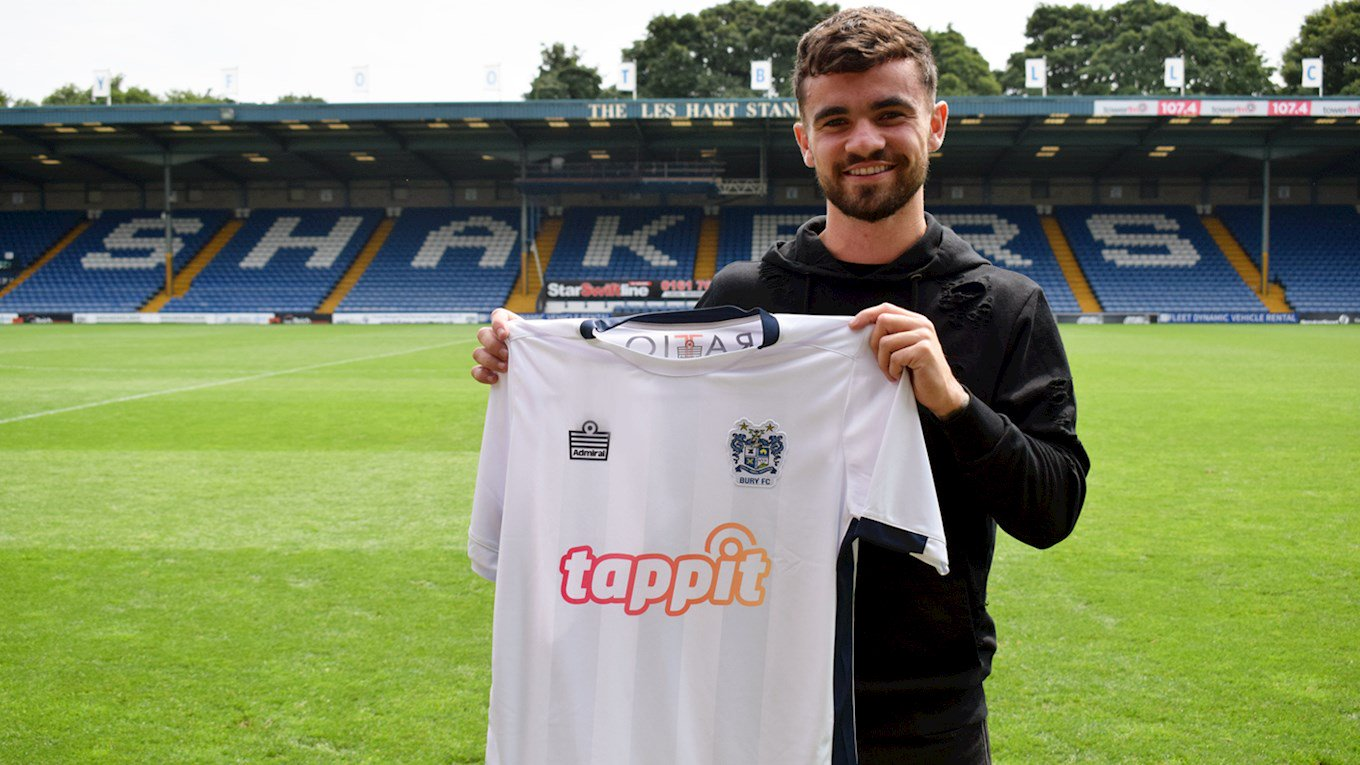Shakers sign Telford on a free from Stoke City - About