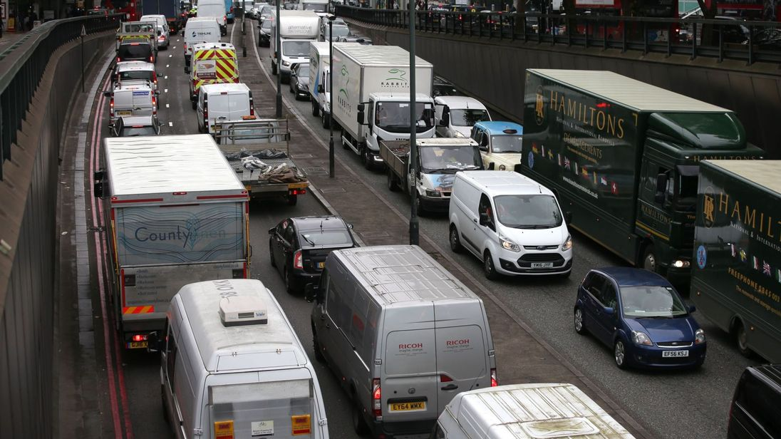 Manchester tops traffic congestion league - About Manchester