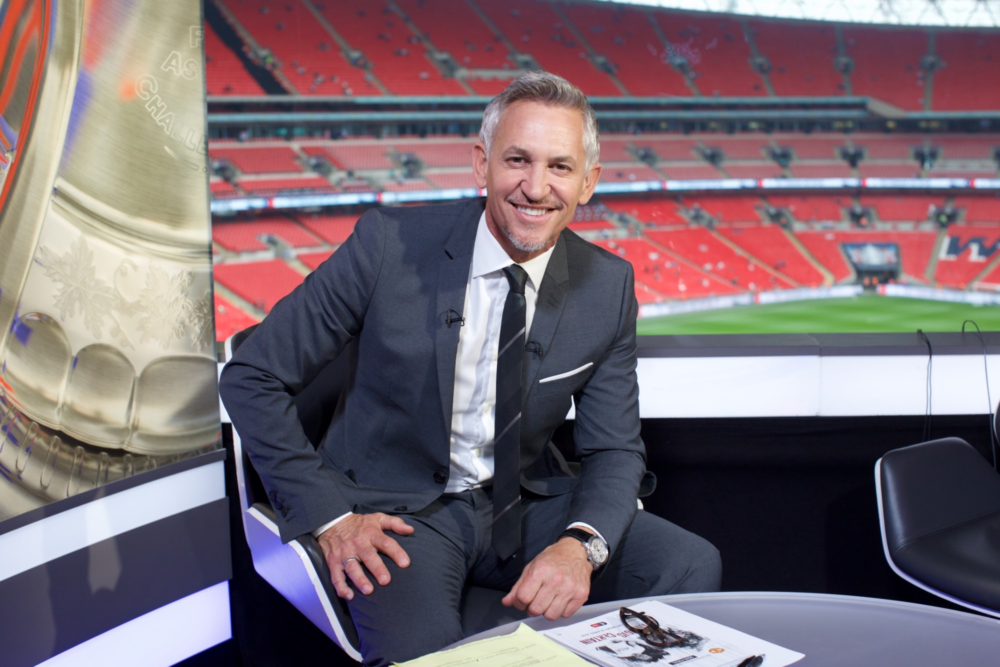 Gary Lineker Revealed as Host of TACKLE4MCR - About Manchester