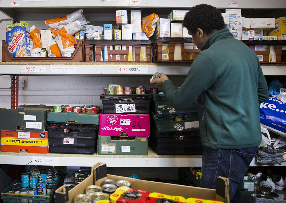 what is a food bank