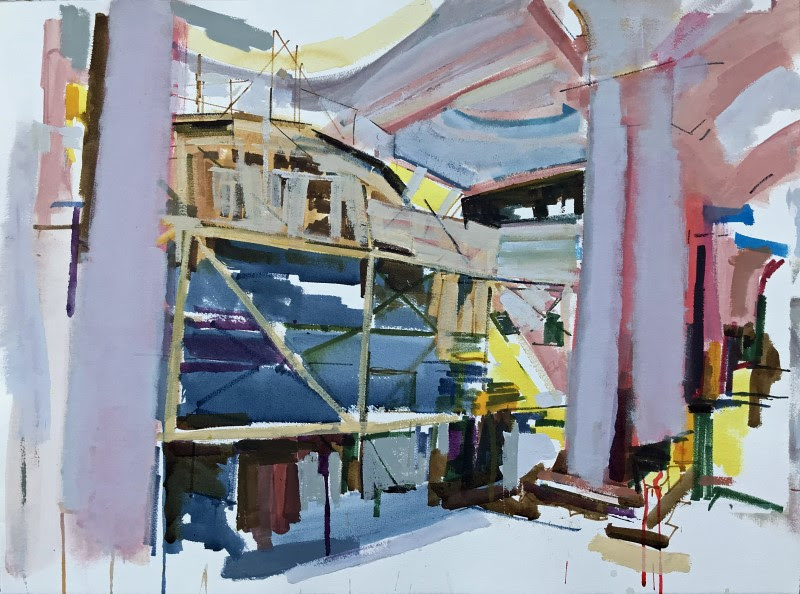 Artist Colin Taylor Explores The Idea Of Landscapes In Partnership With The Royal Exchange Theatre About Manchester