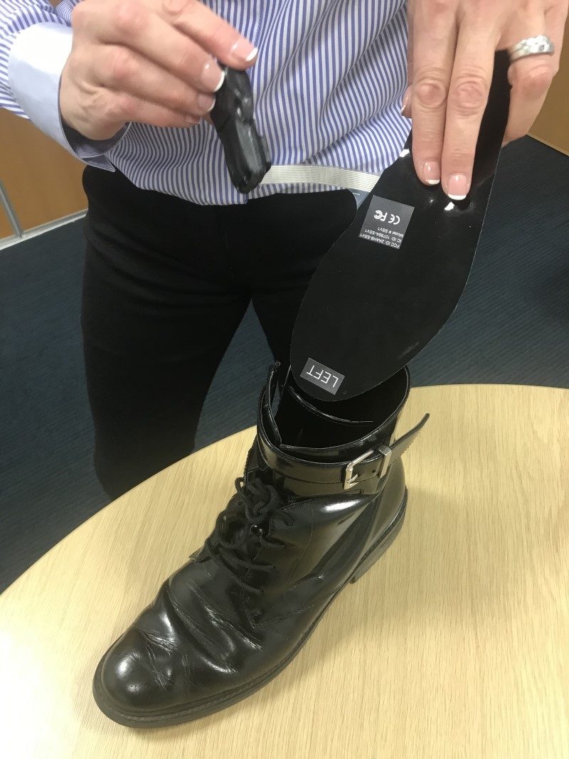 Manchester Researchers Discover How Smart Shoe Insole Helps Reduce