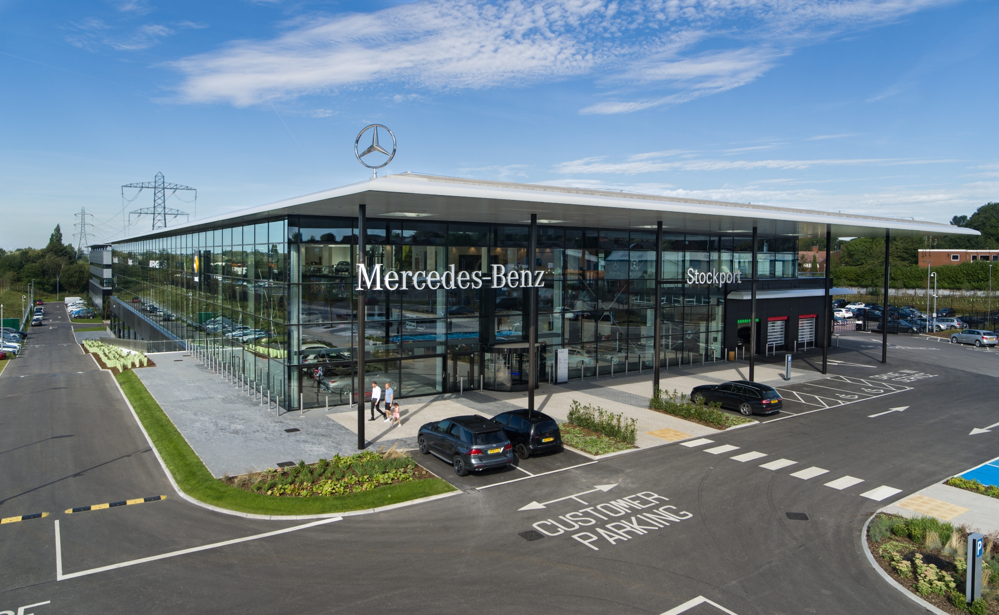Mercedes-Benz of Stockport celebrates outstanding first ...